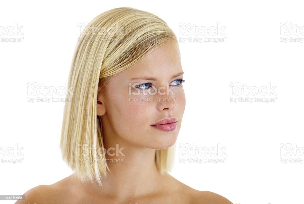 Beauty personified! stock photo