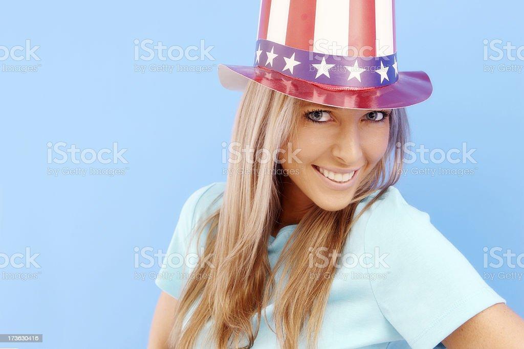 US Beauty royalty-free stock photo