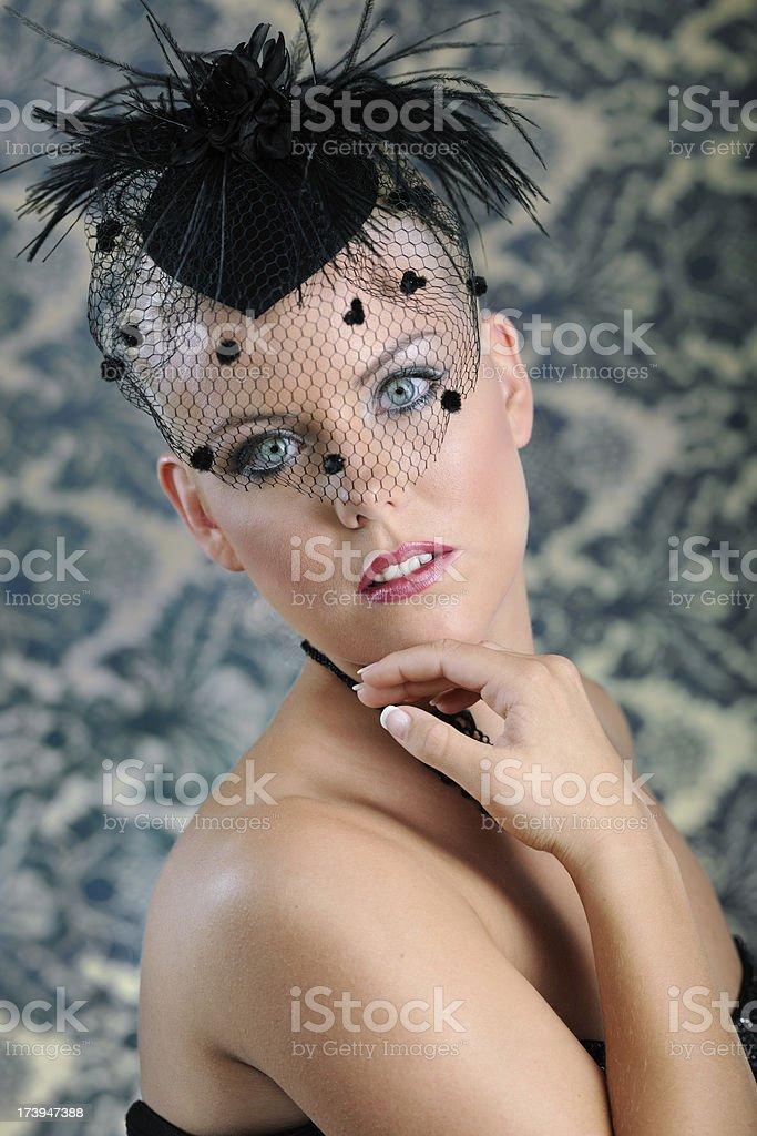 Beauty Portrait - Glamour Make-Up (XXXL) royalty-free stock photo