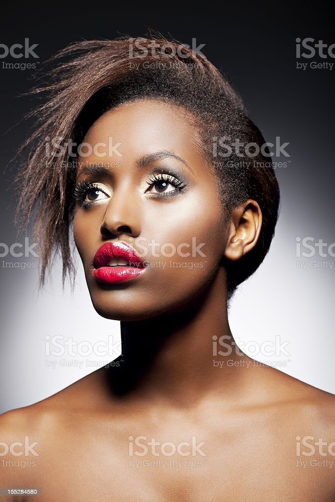 Beauty Portrait of a Woman royalty-free stock photo