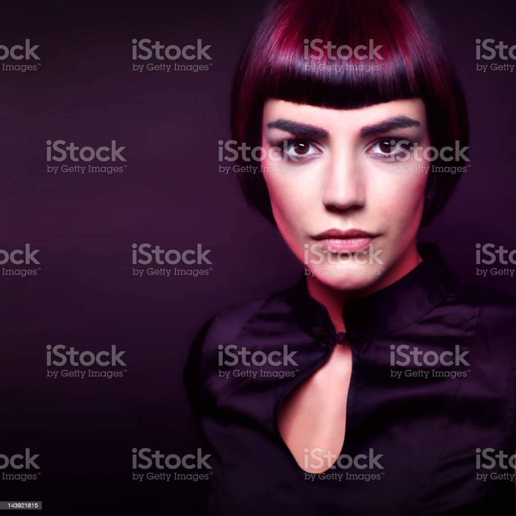 Beauty portrait royalty-free stock photo