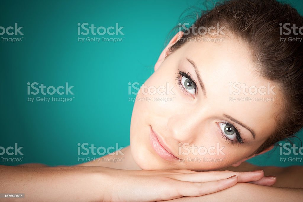 Beauty portrait stock photo