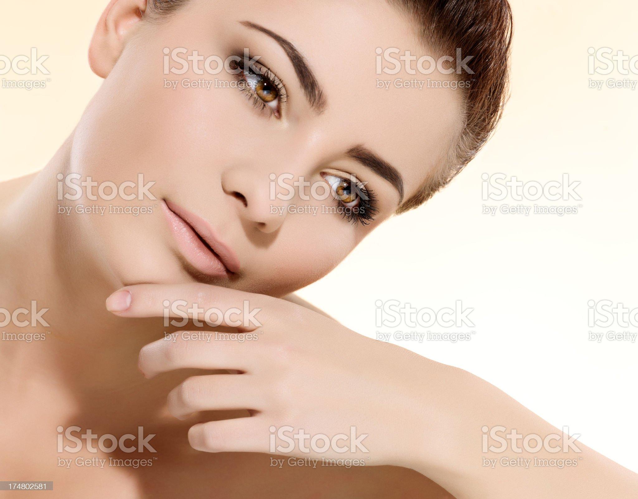 beauty portrait royalty-free stock photo