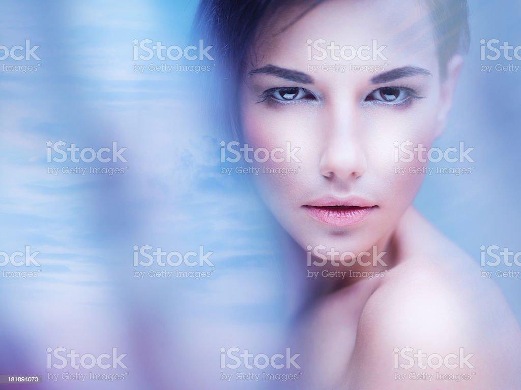 Beauty portrait. royalty-free stock photo