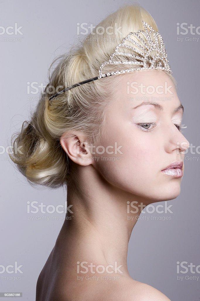Beauty princess royalty-free stock photo