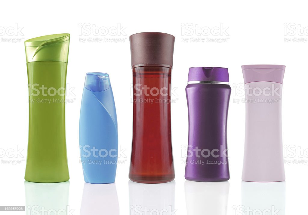 beauty product packaging stock photo