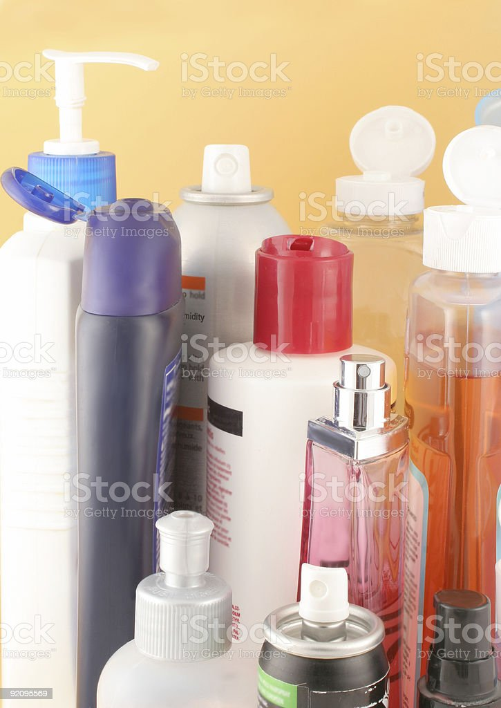 beauty products royalty-free stock photo
