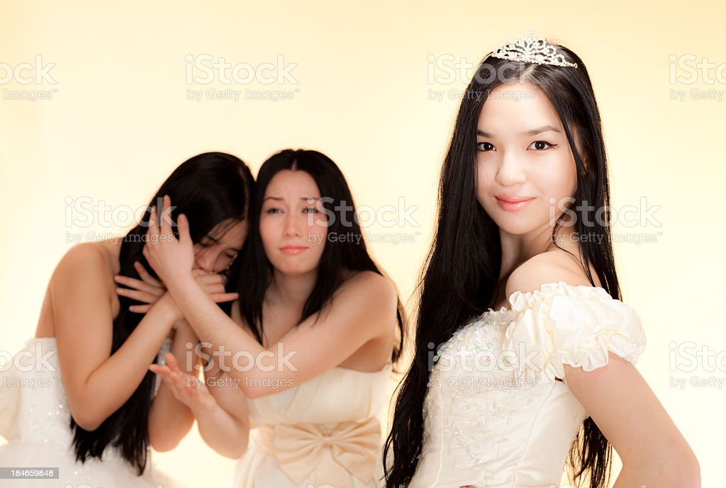 Beauty Queen royalty-free stock photo