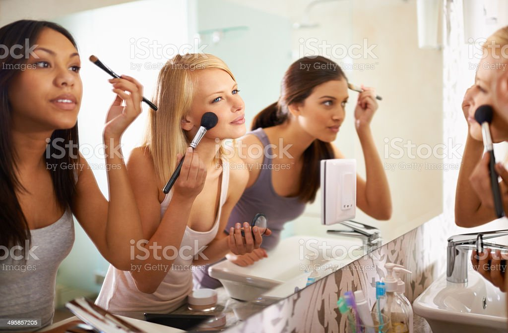 Beauty Queens stock photo