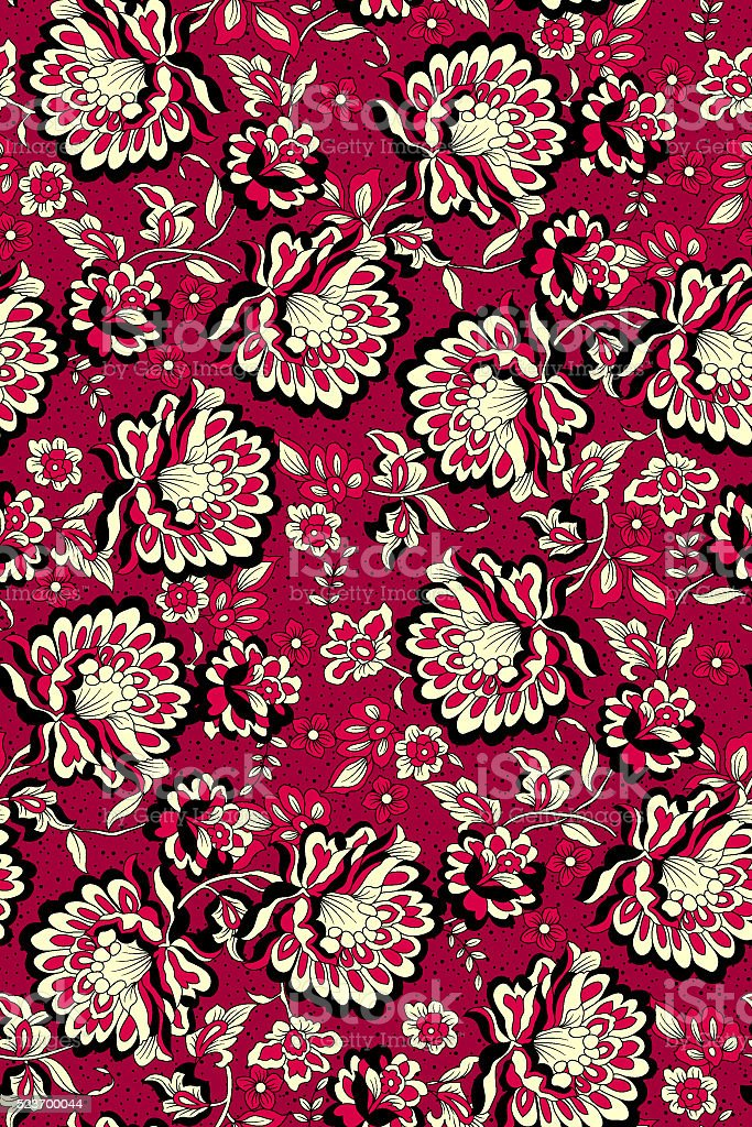 beauty red pattern flower stock photo