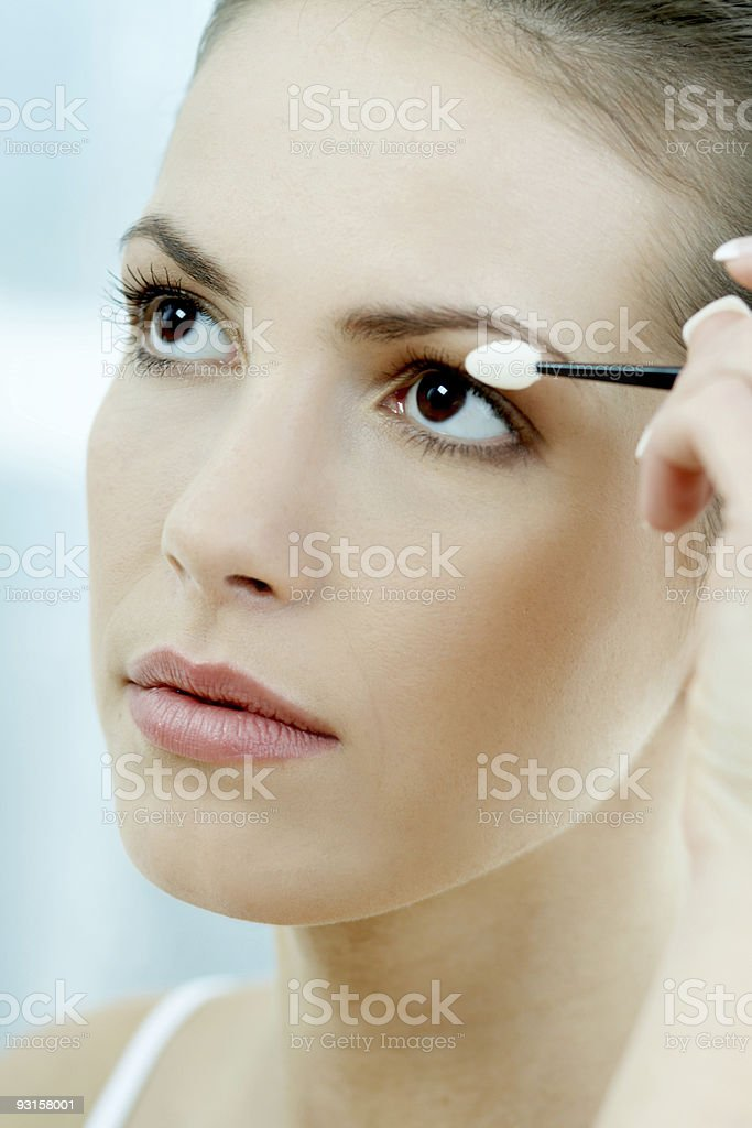Beauty routines 2 royalty-free stock photo