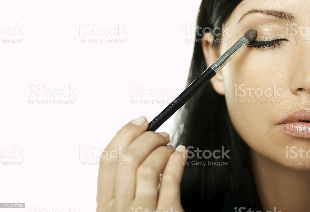 Beauty routines royalty-free stock photo