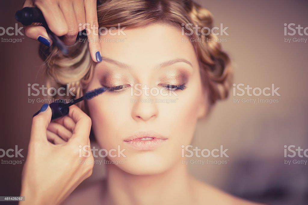 Beauty salon stock photo