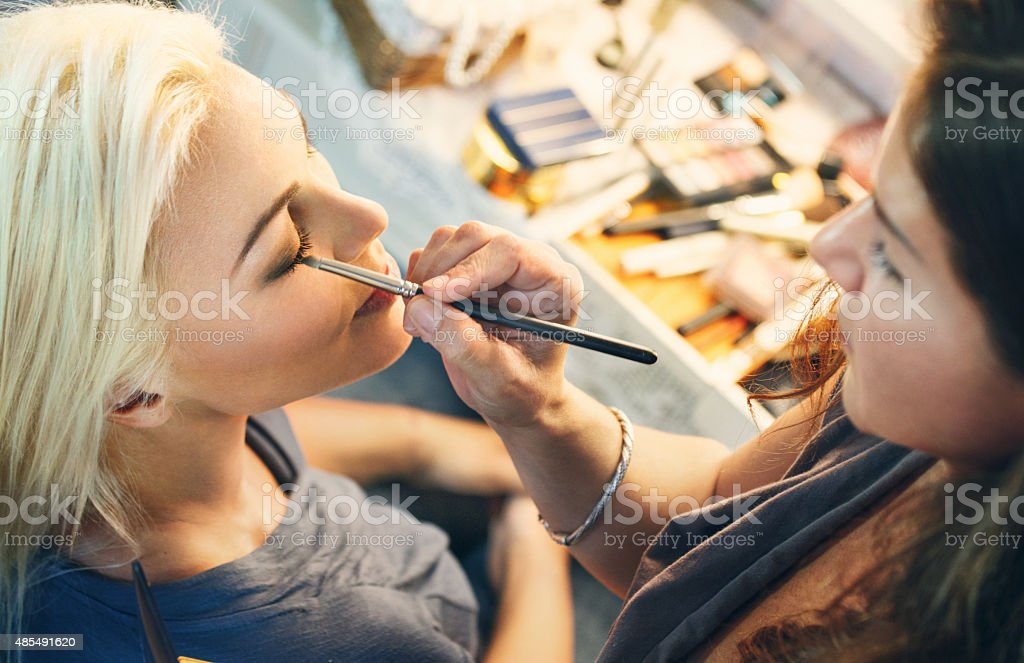 Beauty salon. stock photo