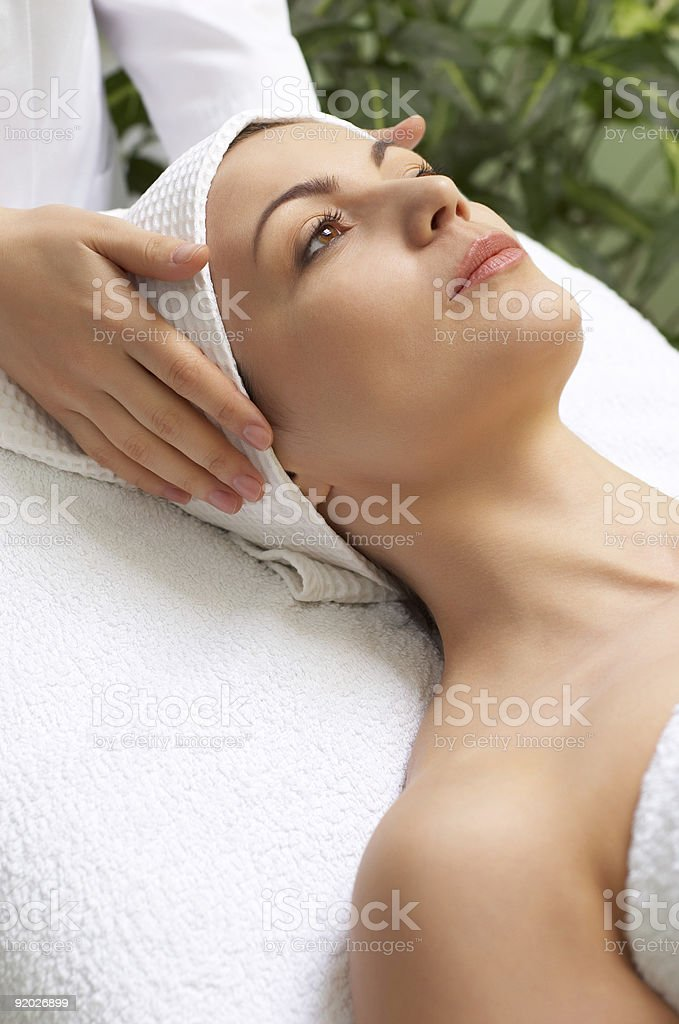 beauty salon series royalty-free stock photo