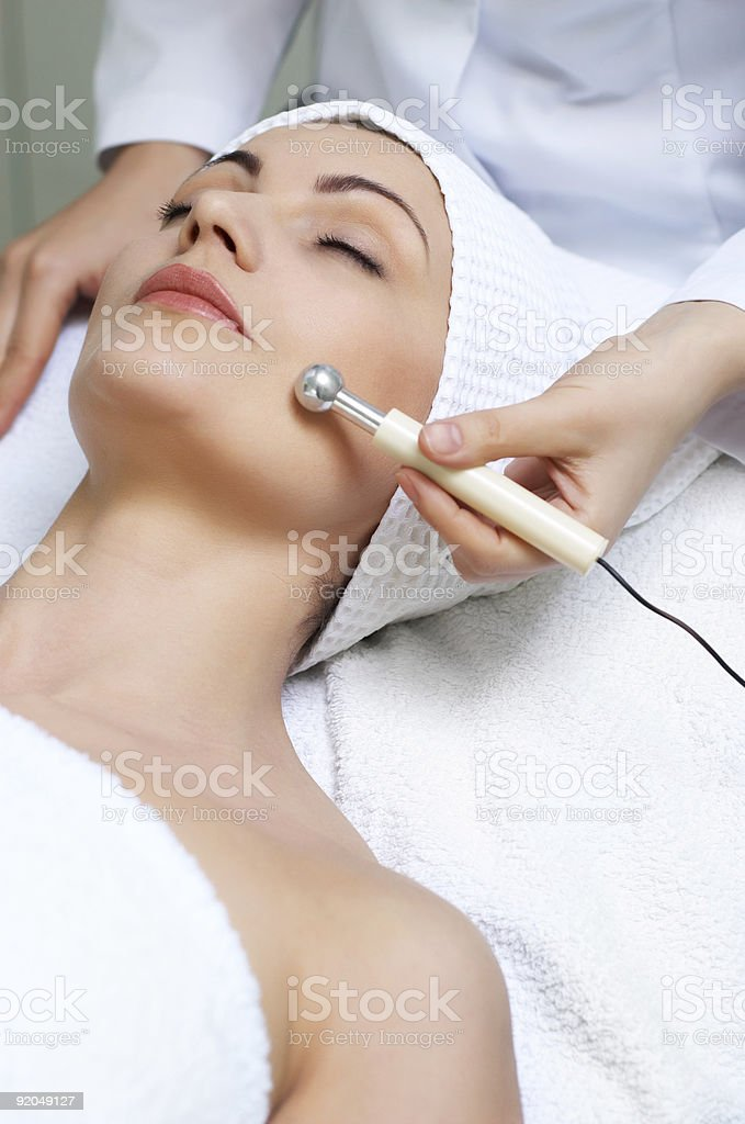 beauty salon series stock photo