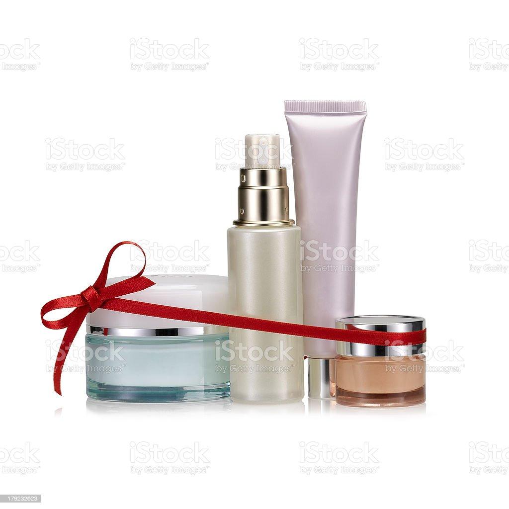 Beauty set gift stock photo