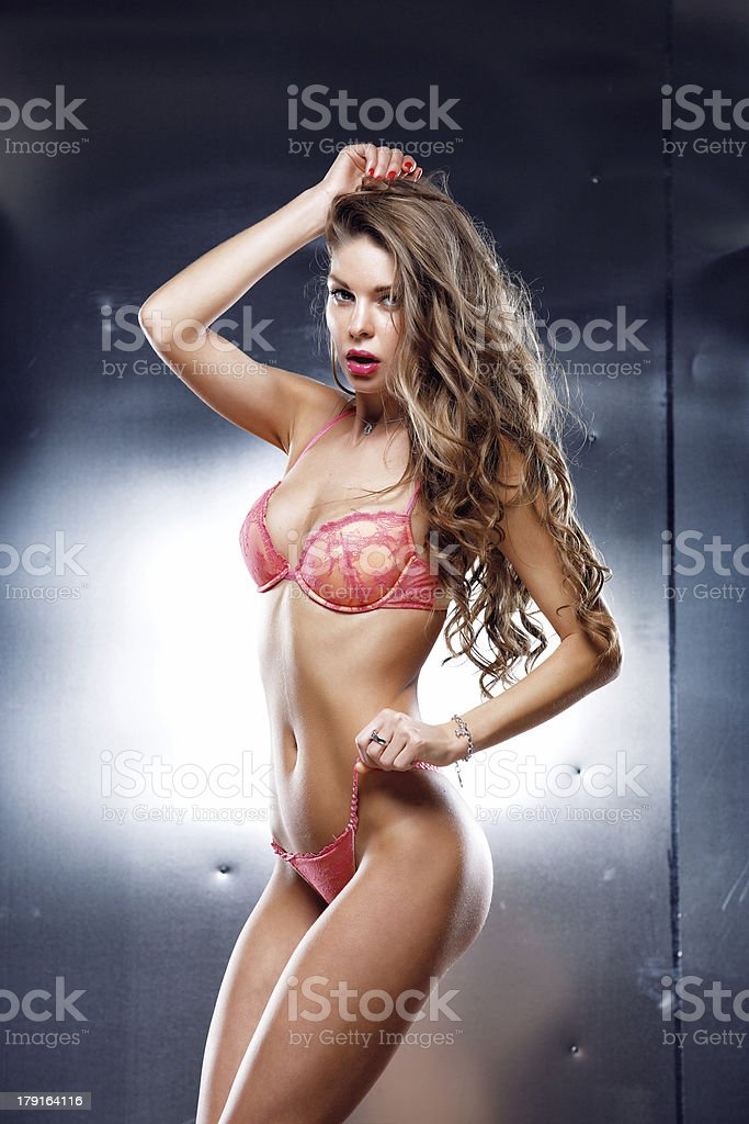 Beauty sexy girl royalty-free stock photo