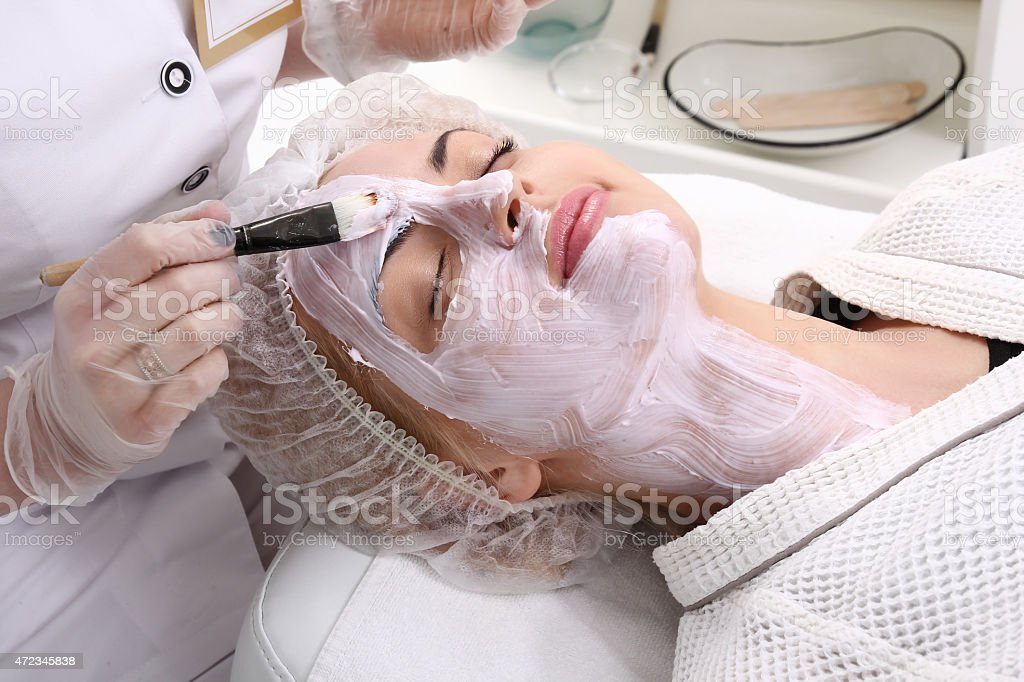 Beauty skin care cosmetics and health concept royalty-free stock photo