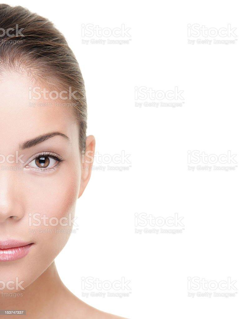 Beauty skin care stock photo