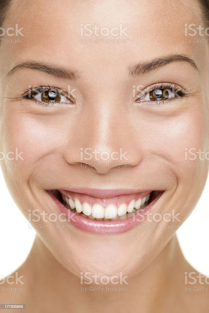 Beauty skin care woman closeup royalty-free stock photo