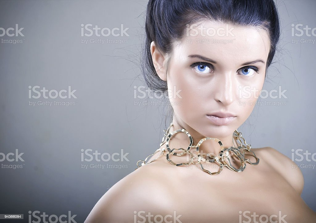 Beauty skin stock photo