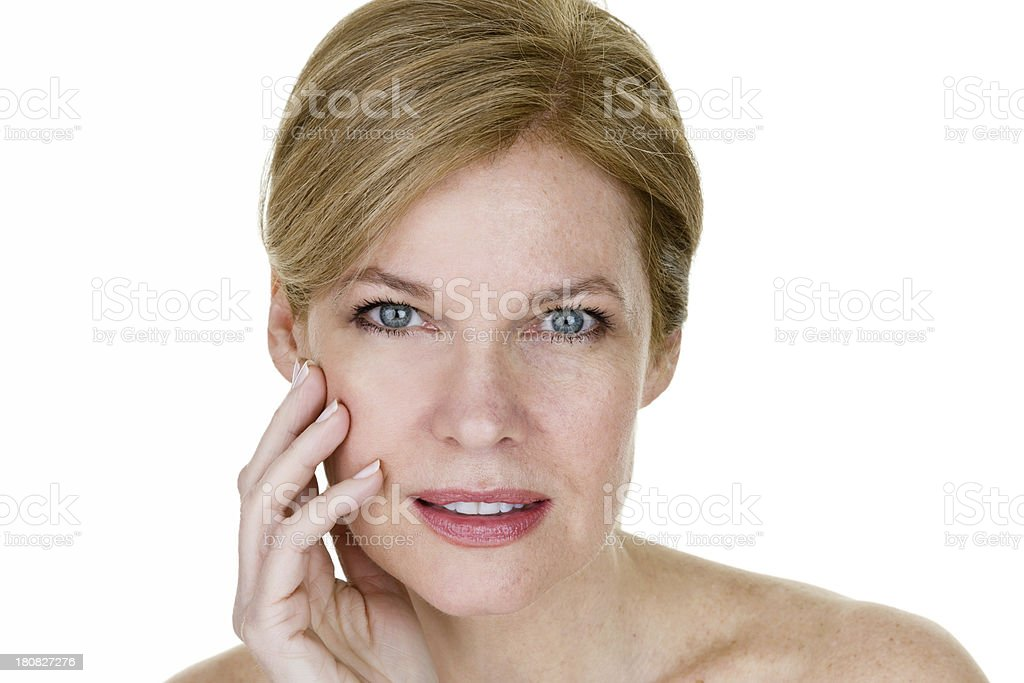 Beauty skincare concept stock photo