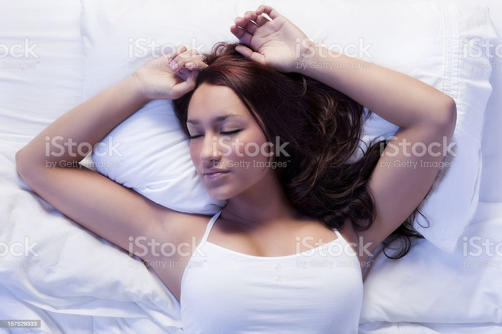 Beauty Sleep stock photo