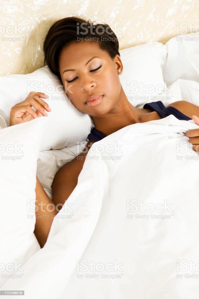 beauty sleep royalty-free stock photo