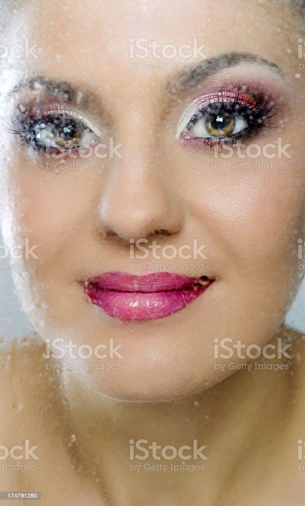 beauty smile royalty-free stock photo