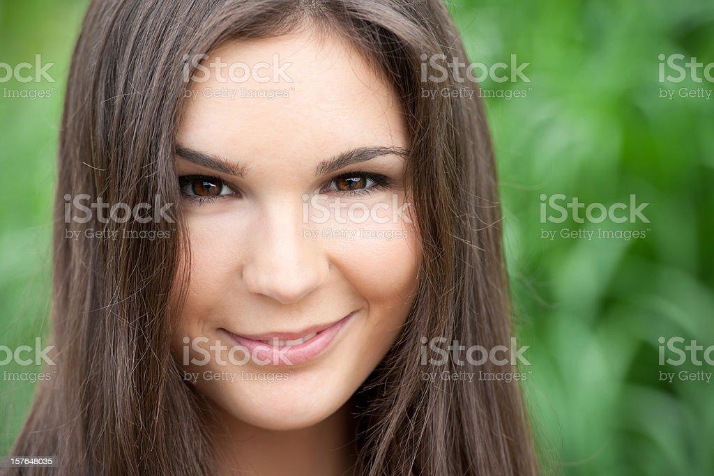 Beauty Smirk (XXXL) stock photo