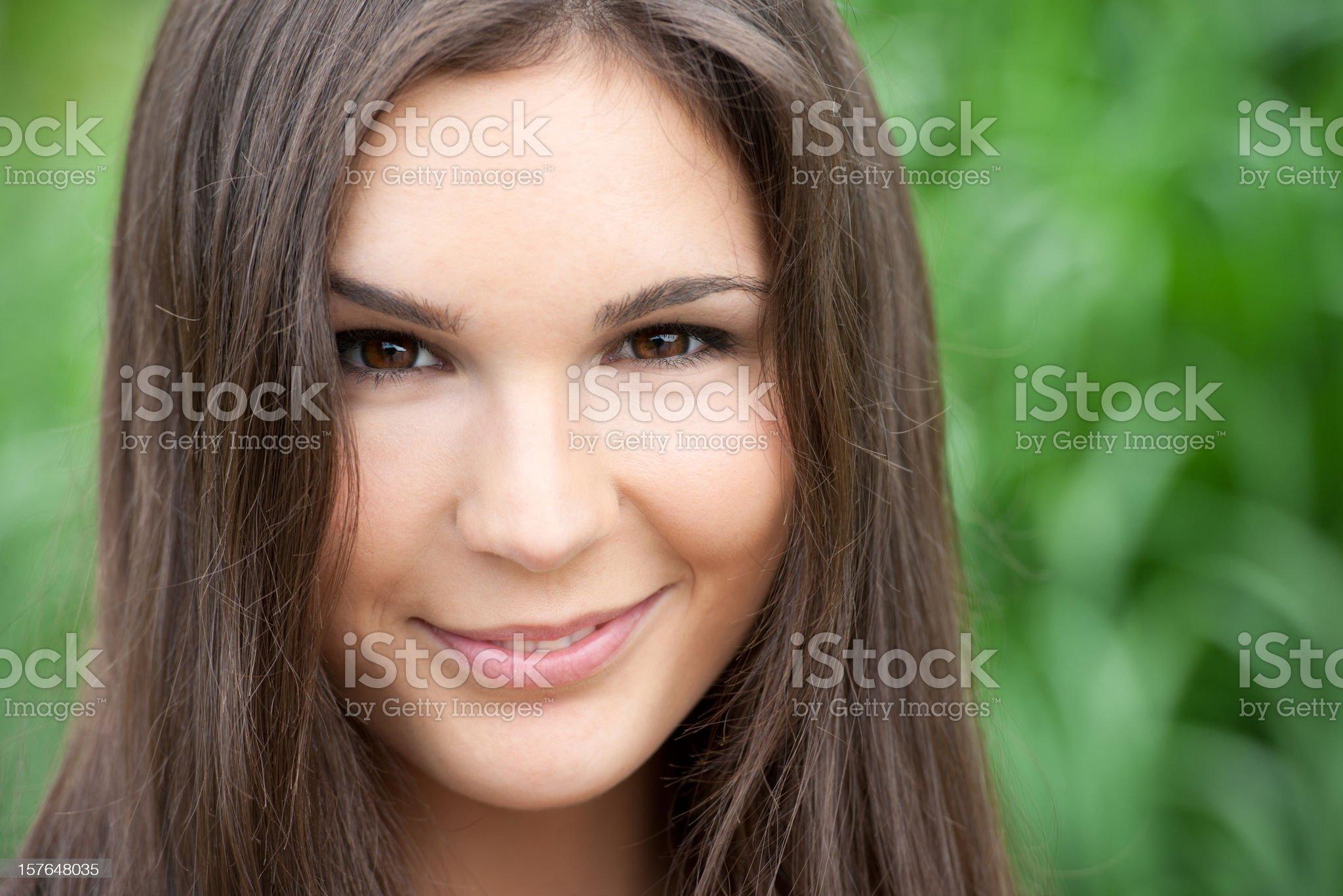 Beauty Smirk (XXXL) royalty-free stock photo