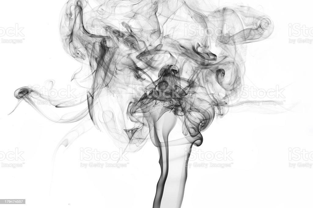 beauty smoke royalty-free stock photo