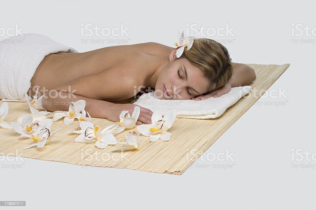 Beauty spa concept royalty-free stock photo
