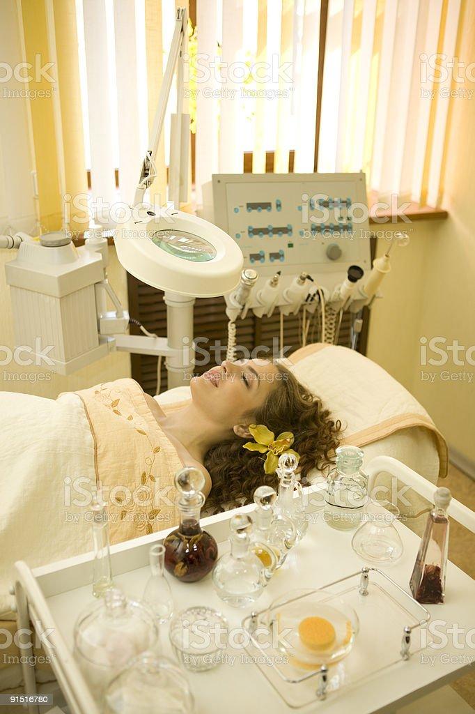Beauty teatment equipment.XXXL royalty-free stock photo
