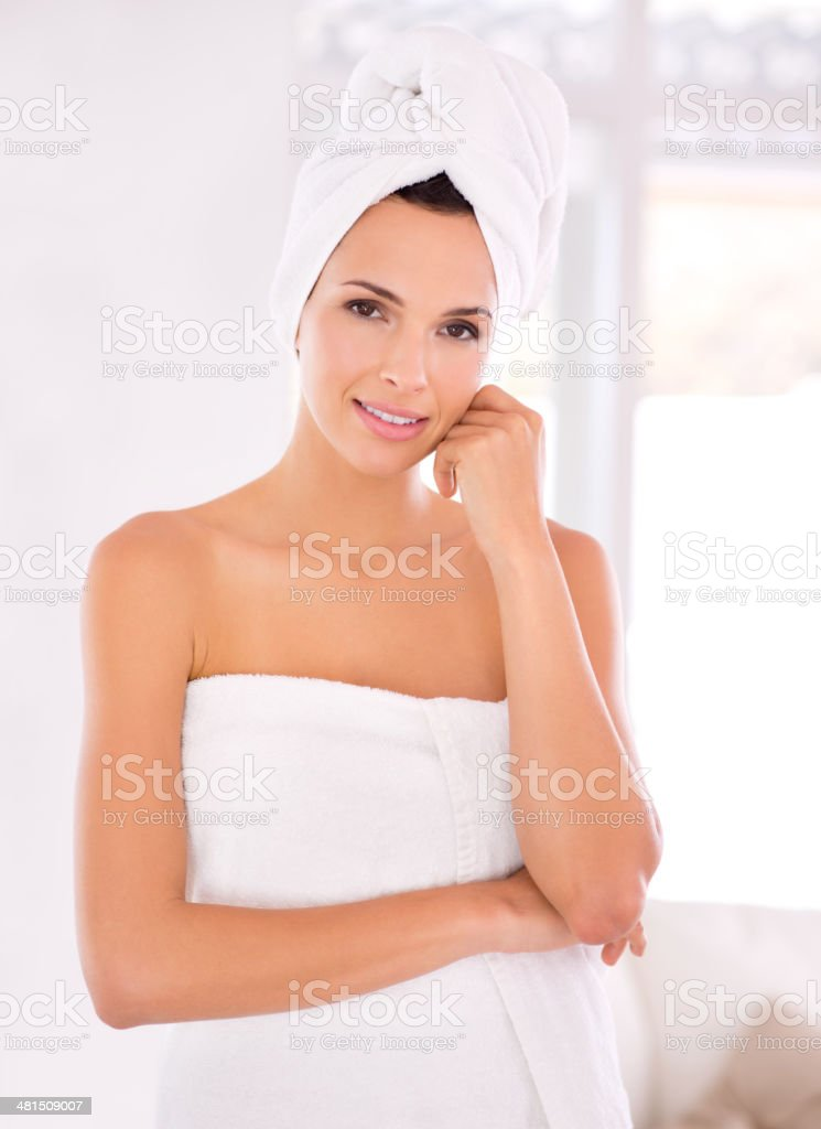 Beauty time stock photo