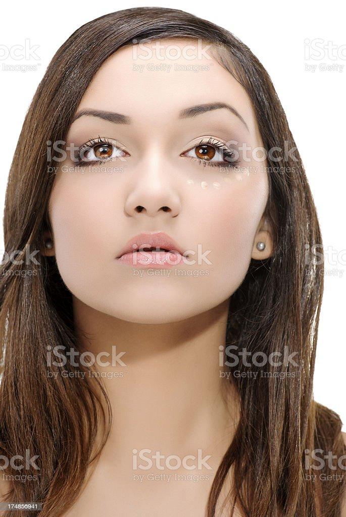 beauty treament royalty-free stock photo