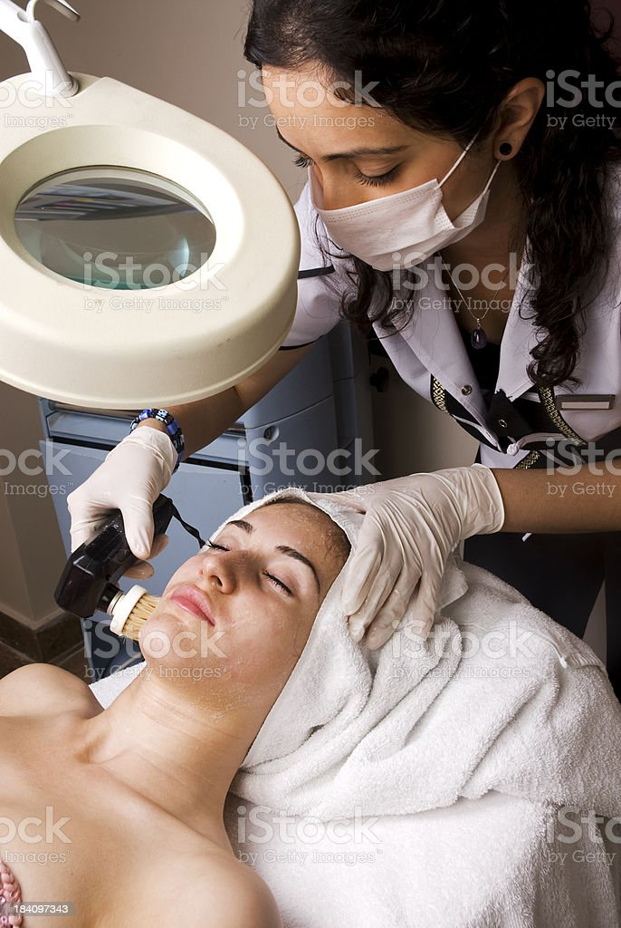 Beauty Treatment in Spa stock photo