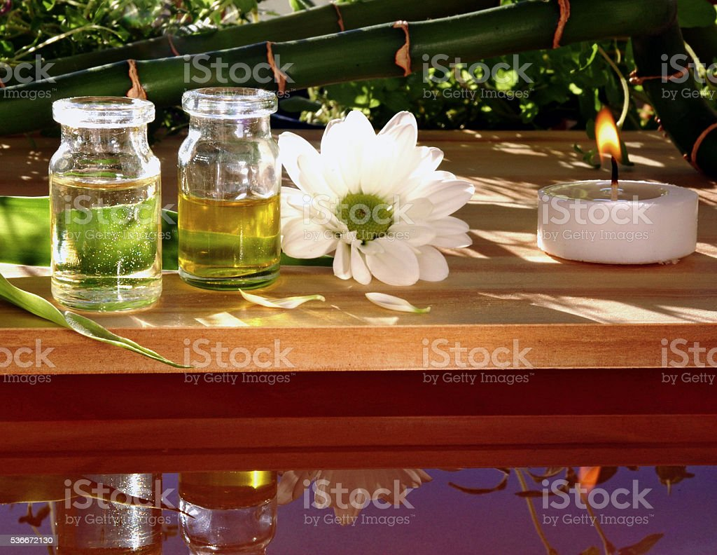 Beauty treatment, natural cosmetic stock photo
