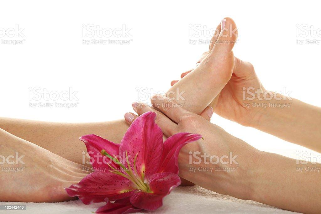 Beauty treatment photo royalty-free stock photo