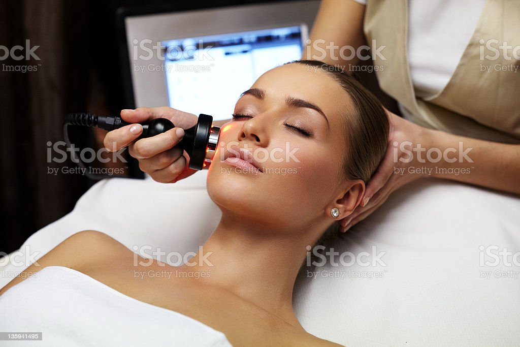 Beauty treatment stock photo