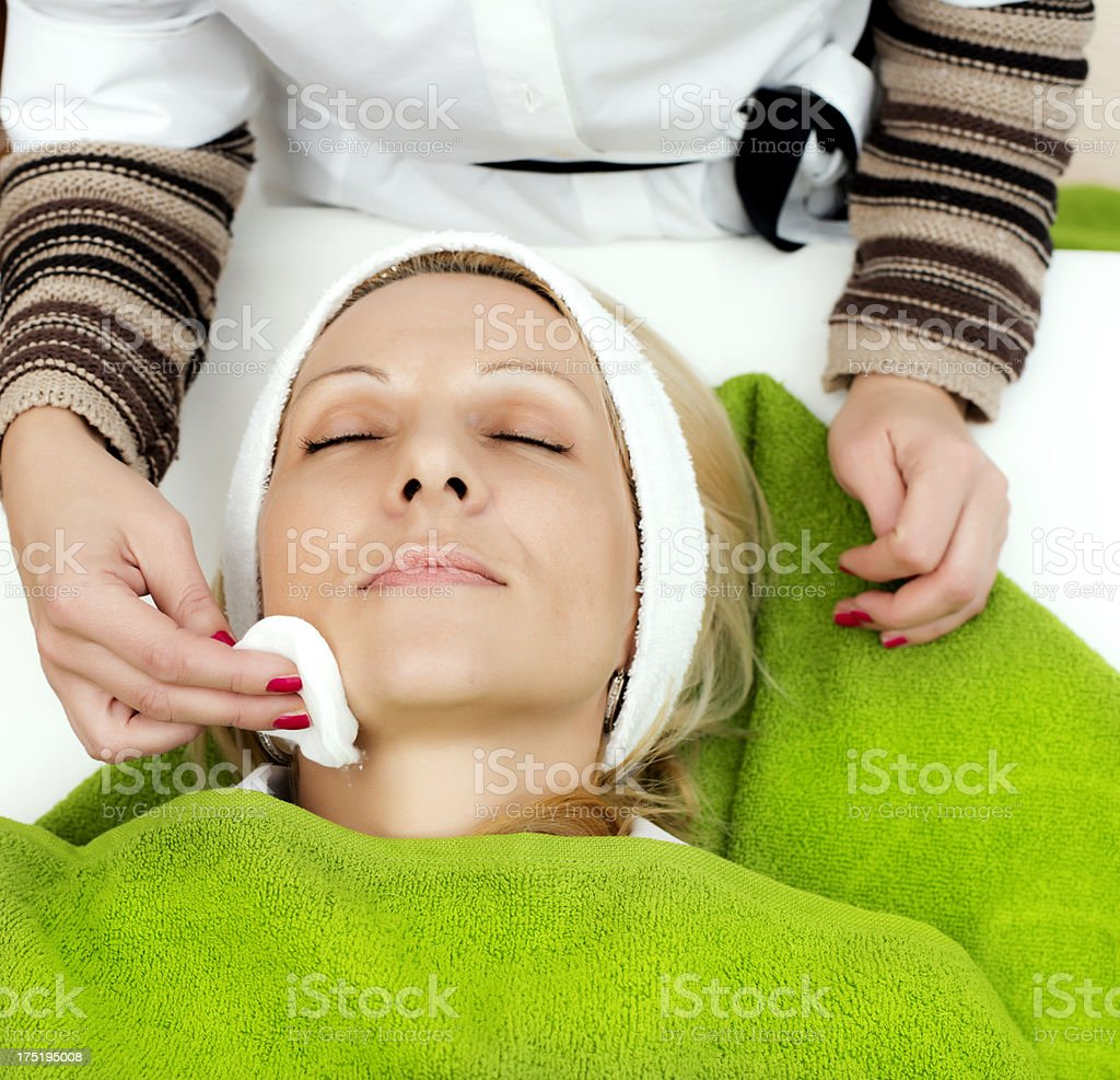 Beauty treatment royalty-free stock photo