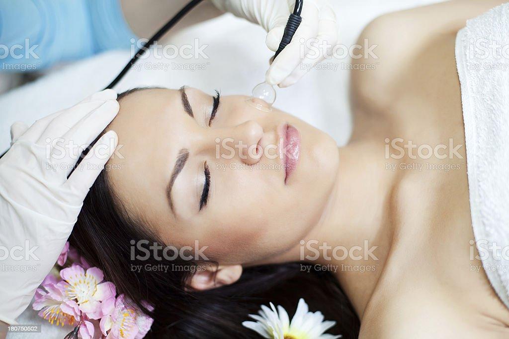 Beauty treatment. stock photo