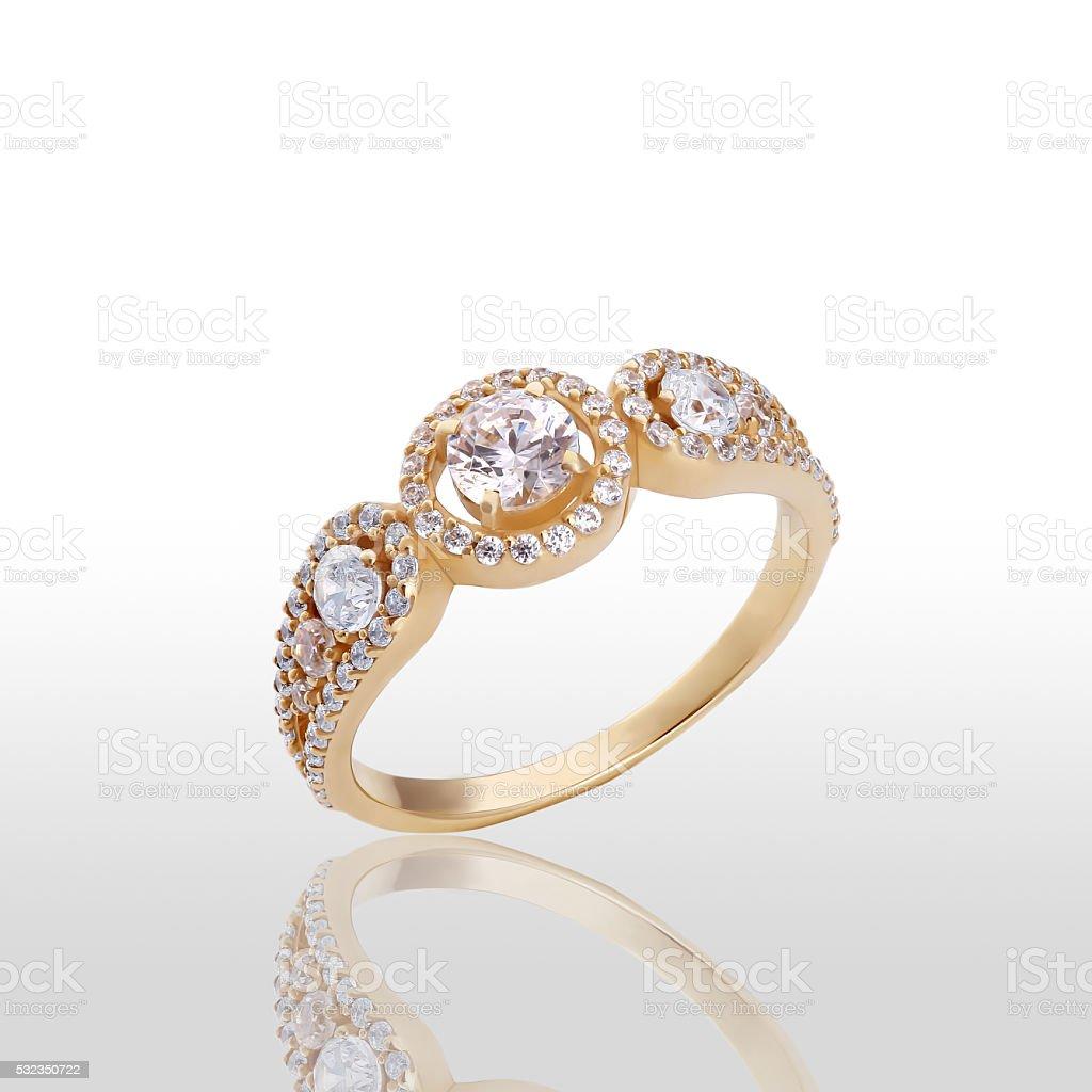 Beauty wedding ring royalty-free stock photo