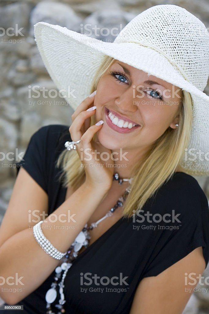 Beauty With Class royalty-free stock photo