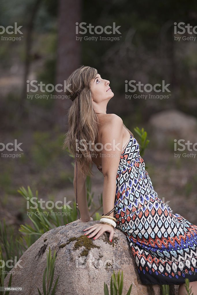 Beauty young woman royalty-free stock photo
