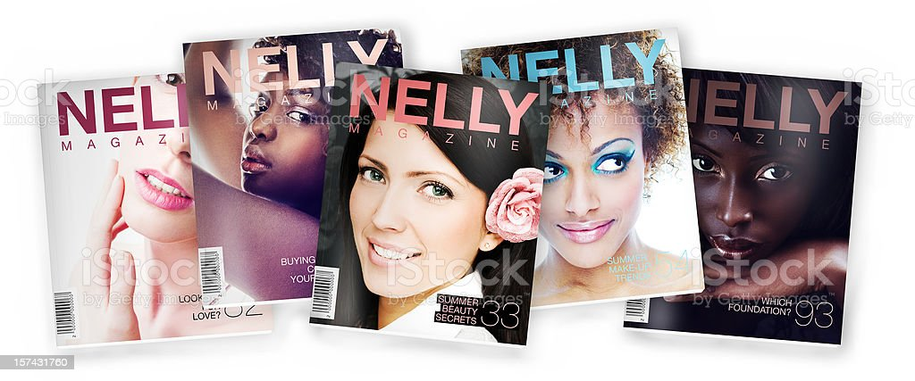 Beauty/Fashion Magazine stock photo
