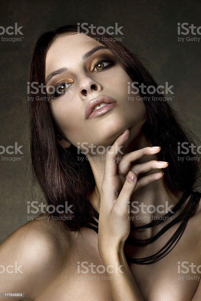Beautyful young girl royalty-free stock photo