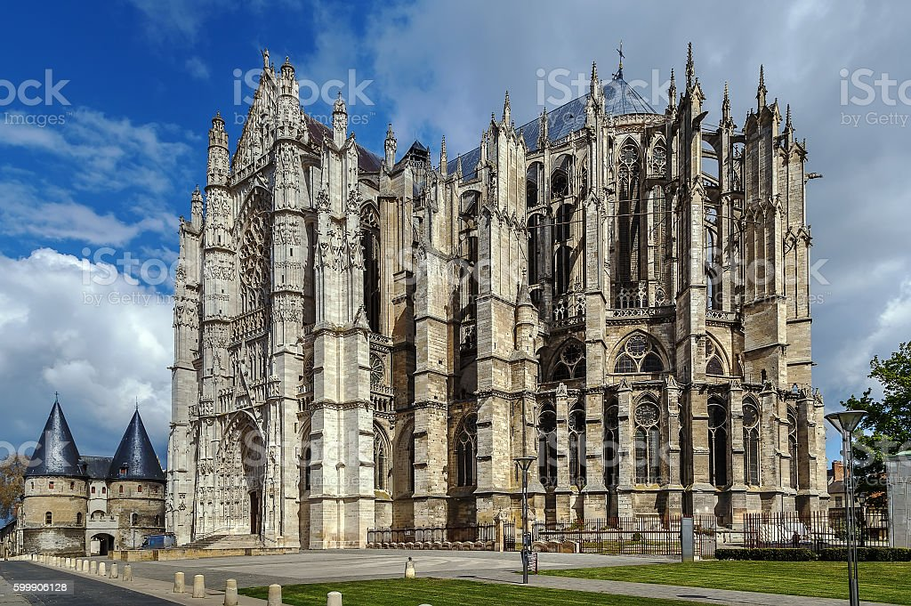 Beauvais Cathedral, France stock photo