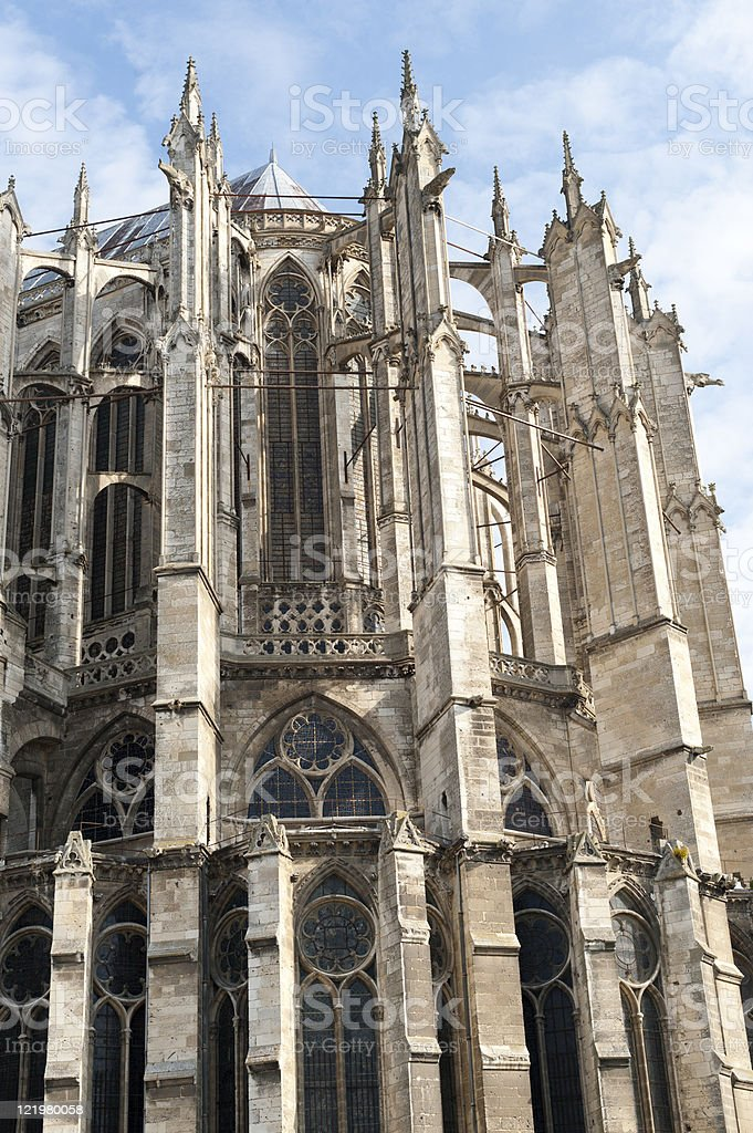 Beauvais (Picardie) -Cathedral stock photo